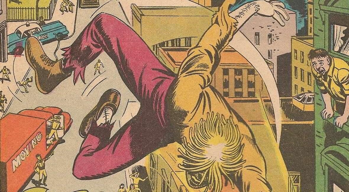 Durchgeknallte Welt der Comics: Brother Power The Geek